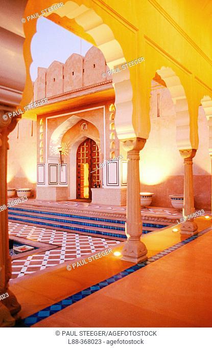 Rajvilas Hotel. Rajasthan. India