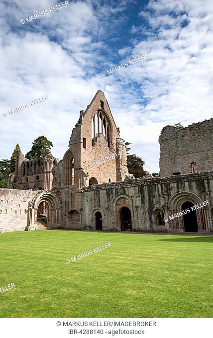 Dryburgh Abbey, St Boswells, Borders District, Scotland, United Kingdom