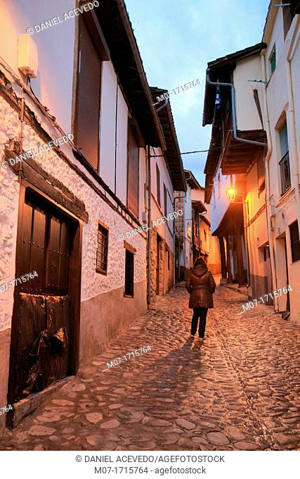 Hervas village, Caceres, Extremadura, Ambroz Valley, Spain