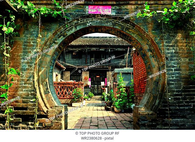 Shanxi Province Jincheng City Zezhou Country Da Yang Town Metropolis of Pins