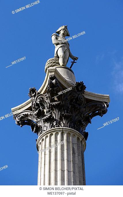 Nelsons Column, London, UK