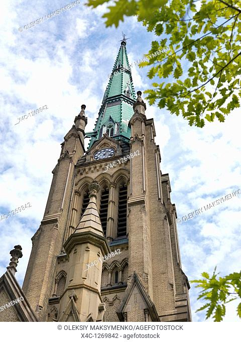 The Cathedral Church of St  James  Gothic Revival architecture, Anglican churchin Toronto, Ontario, Canada