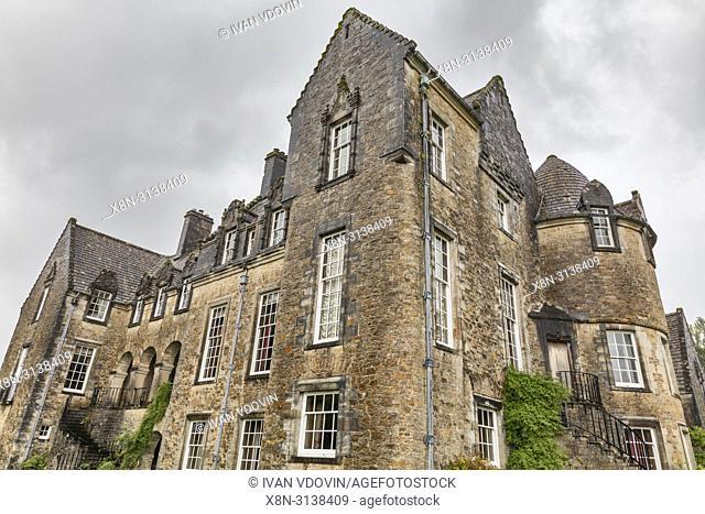 Ardkinglas House (1908), Argyll, Scotland, UK