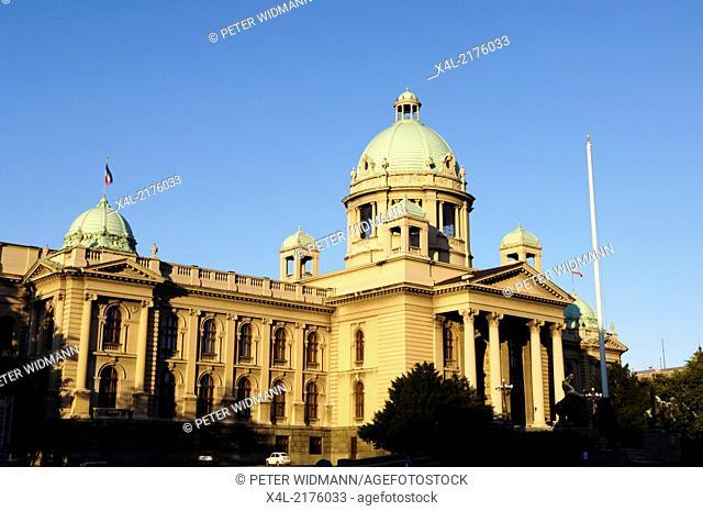 Beograd, parliament palace, Serbia-Montenegro, Belgrade