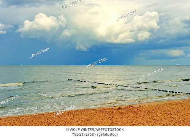 Sea near Bansin, Usedom Island, Germany