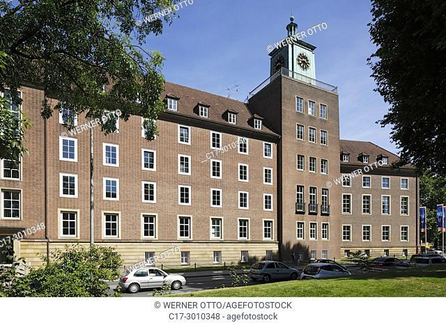 Muenster (Westfalen), D-Muenster, Westphalia, Muensterland, North Rhine-Westphalia, NRW, Landeshaus at the Freiherr-vom-Stein Square, administration building