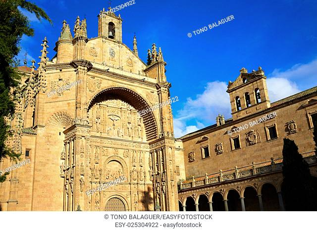 San Esteban Convent in Salamanca at Spain of Dominicos