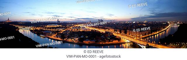 PANORAMA, MOSCOW, 2009, MOSCOW, CITYSCAPE CITY VIEW, Architect