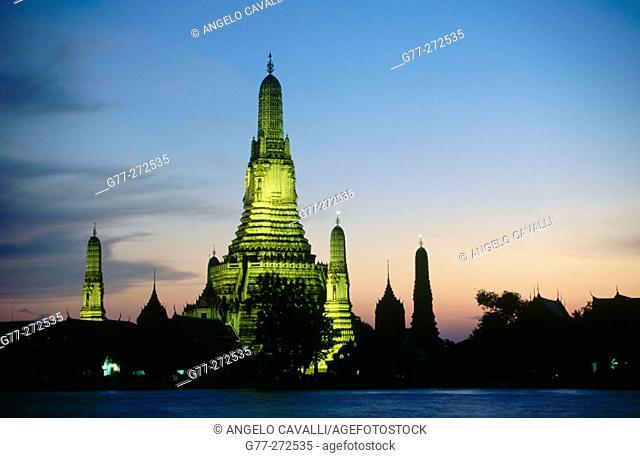 Wat Arun Temple. Bangkok. Thailand