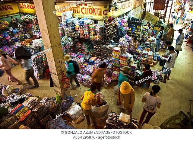 Binh Tay Market Cho lon. Ho Chi Minh City (formerly Saigon). South Vietnam