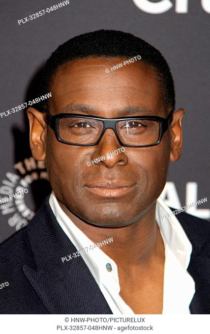 David Harewood 03/13/2016 PaleyFest 2016 Supergirl held at The Dolby Theatre in Hollywood, CA Photo by Kazuki Hirata / HNW / PictureLux