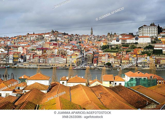 Citycapes of Oporto, Portugal, Europe