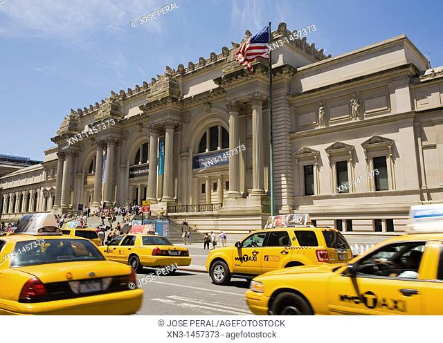 Metropolitan Museum of Art, 5th Avenue, New York City, New York, USA