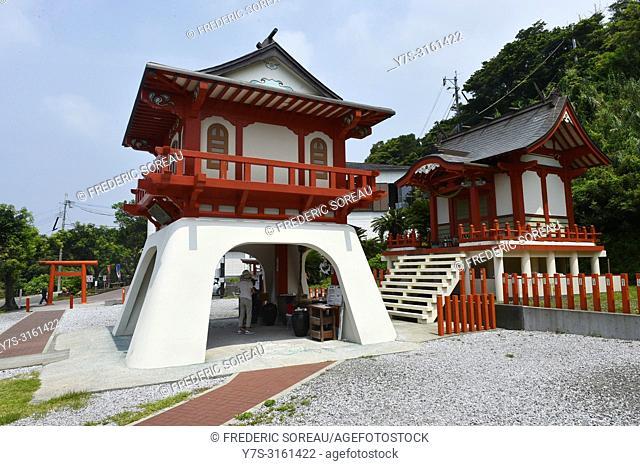 Ryugu shrine, Ibusuki, Kyushu island, Japan, Asia
