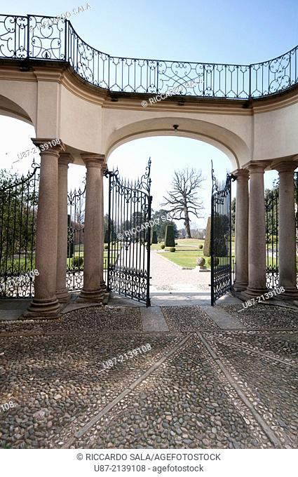 Italy, Lombardy, Varese, Biumo Superiore, Villa Menafoglio Litta Panza, FAI Fondo Ambiente Italiano property