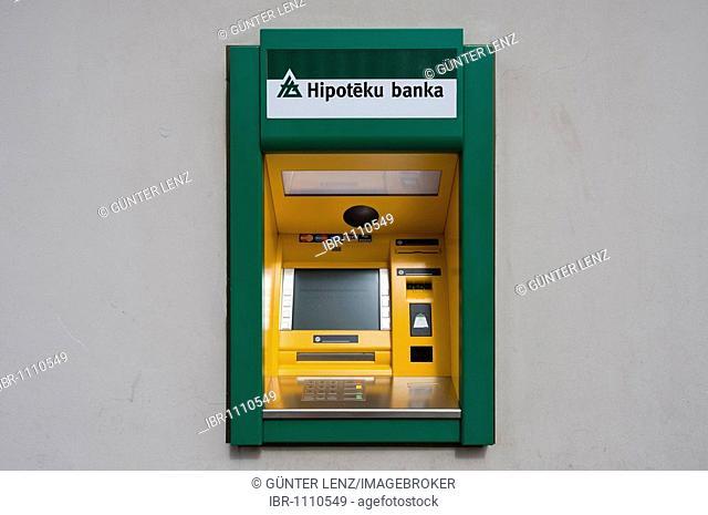 ATM machine, Riga, Latvia, Baltic states, PublicGround