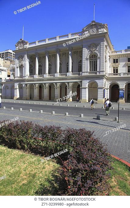 Chile, Santiago, Teatro Municipal, theatre,