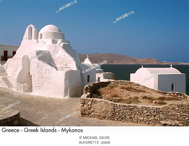 Greece - Greek Islands - Mykonos