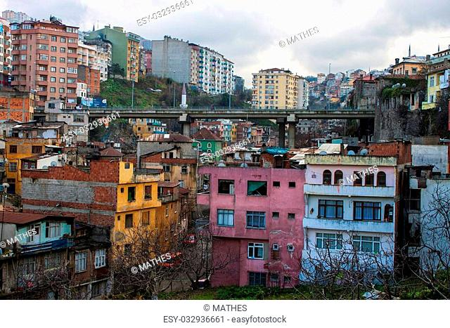 View of Trabzon, Turkey