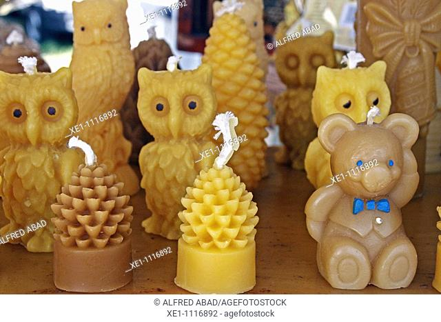 Artisan candles, teddies and owls