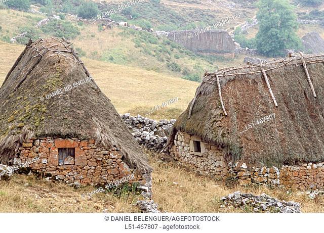 Brañas de Mumian. Somiedo Natural Park. Asturias. Spain