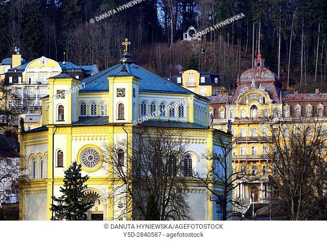 Marianske Lazne resort - Marienbad, Karlovy Vary Region, West Bohemia, Czech Republic, Europe