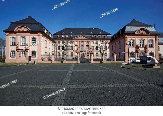 Landtag building, state parliament, Mainz, Rhineland-Palatinate, Germany