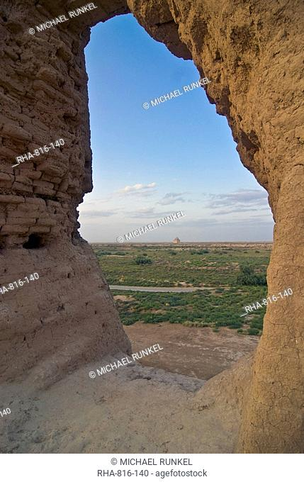 The ancient ruins of Merv, UNESCO World Heritage Site, Turkmenistan, Central Asia
