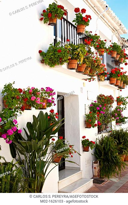 The town of Benalmadena in Costa del Sol, Andalusia, Spain