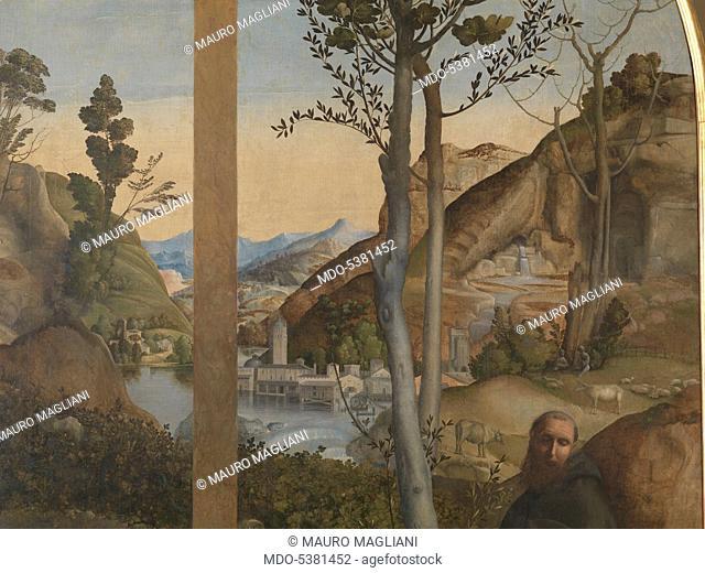 Lamentation of Christ (Compianto su Cristo morto), by Giovanni Bellini, 15th Century, oil on canvas