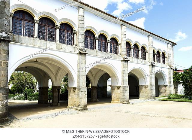 Galeria das Damas, Ladie's Gallery, Don Manuel Royal palace, Public garden Merendas, UNESCO World Heritage Site, Evora, Alentejo, Portugal