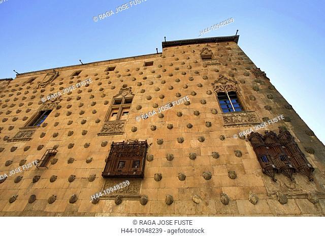 world heritage, Castilla, Castile, Castilla Leon, Salamanca, City, architecture, cathedral, city, conchas, facade, famous, history, shells, Spain, Europe