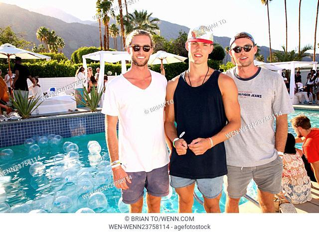Celebrities attend Paradise House Presented By Interview Featuring: Dan Osborn, Orri Helgason, Shaun Osborn Where: Los Angeles, California