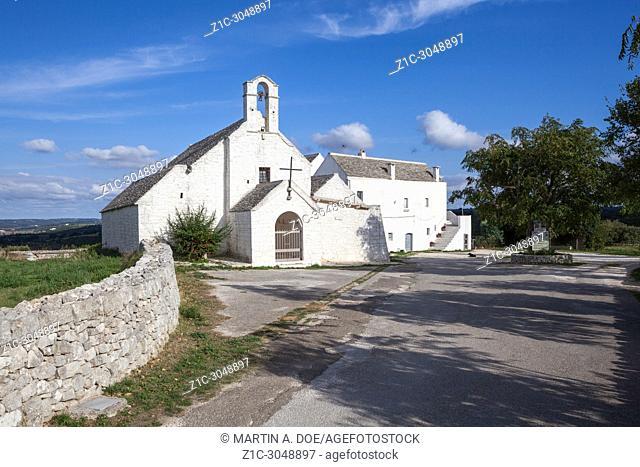 Chiesa di Santa Maria (Saint Mary Church). Barsento, Italy