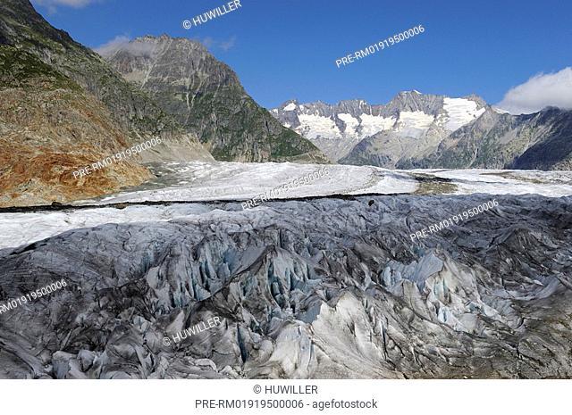 Aletsch Glacier, Glacial