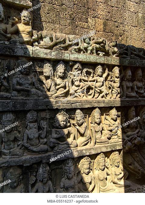 Leper King Terrace, Angkor Thom, Angkor Archaeological Park