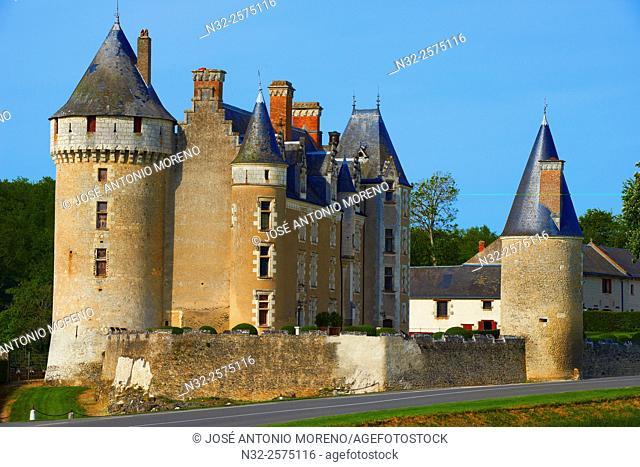 Montpoupon, Castle, Chateau de Montpoupon, Indre-et-Loire, Céré-la-Ronde Comune, Pays de la Loire, Loire Valley, UNESCO World Heritage Site, France
