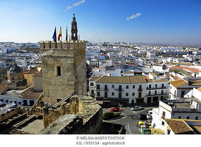 Carmona from Alcázar de la Puerta de Sevilla, Carmona. Sevilla province, Andalusia, Spain
