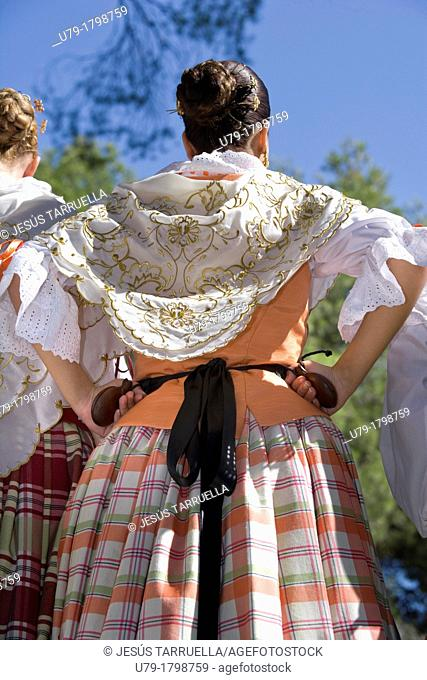 XIX Festival de folklore. Villena 2008, 13 and 14 September, Music and Dance Group 'Andalucia 2' Cadiz, folk group 'Villa de Madrid' Chorus and Dance Group of...