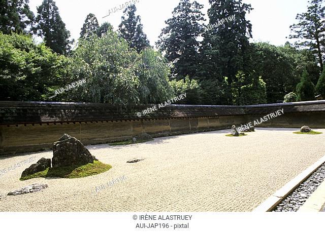 Japan - Kyoto - Ryoan ji Temple - The Dry Garden
