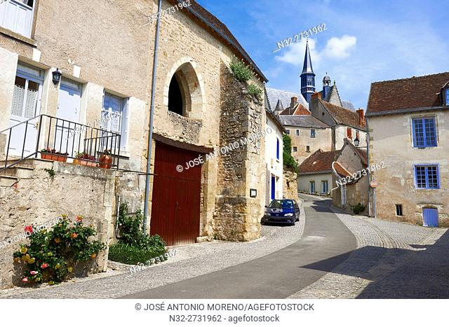 Montresor, Labelled Les Plus Beaux Villages de France, The Most Beautiful Villages of France, Indre-et-Loire, Pays de la Loire, Loire Valley