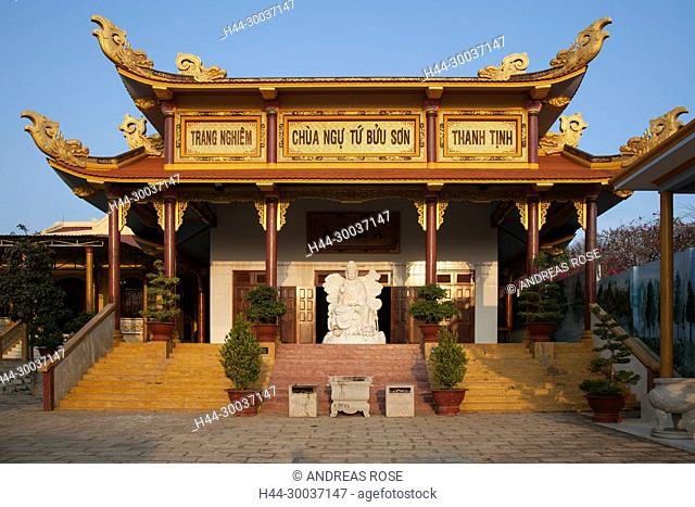 Chua Ngu Tu Buu Son Pagode, nahe Phan Thiet, Binh Thuan, Vietnam, Asien