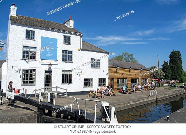 Image of The Waterside Inn and Mountsorrel Lock on the River Soar