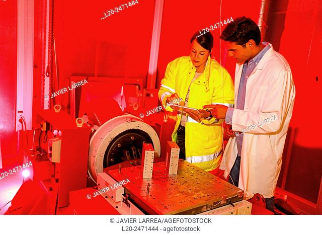 Researchers. Vibration Chamber Laboratory. EMC & Telecom Lab. Certification of Low Voltage Electrical & Electronic Products