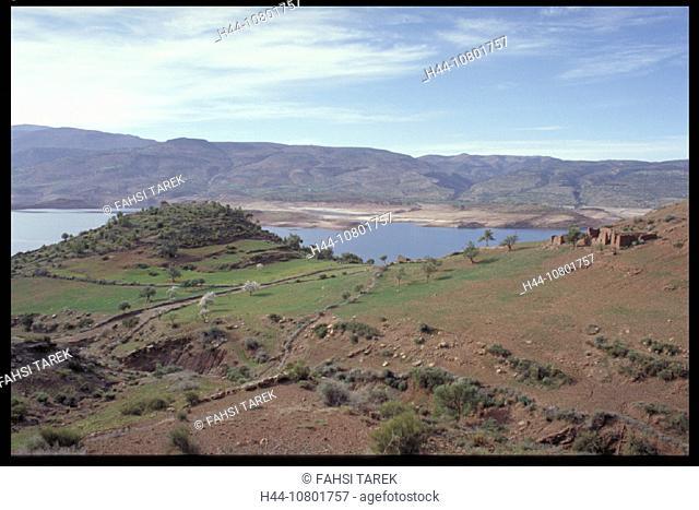 Afourer, Azilal, Being El Ouidane, high atlas, lake, middle atlas, Morocco, Africa, nature, Ouidan, Ouidane, reservo