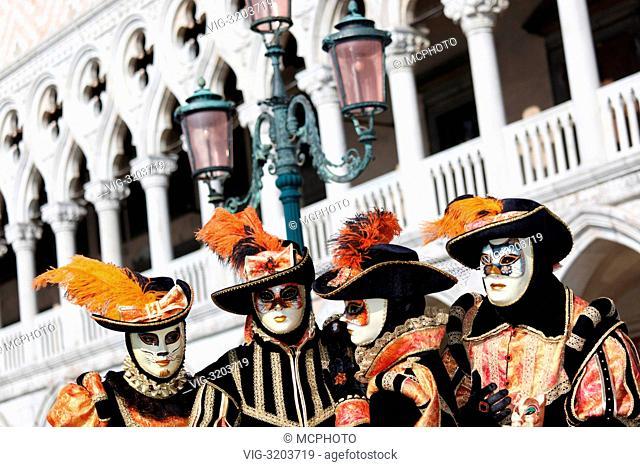 Dogenpalast - Venedig, Venetien; Veneto, Italien, 01/01/2012