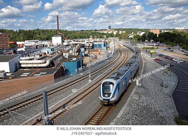 Södertälje,industrial area,Scania. Södermanland Sweden
