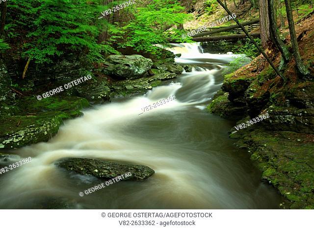 Dingmans Creek, Delaware Water Gap National Recreation Area, Pennsylvania
