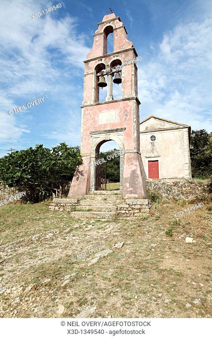 Church, Old Perithia, Corfu