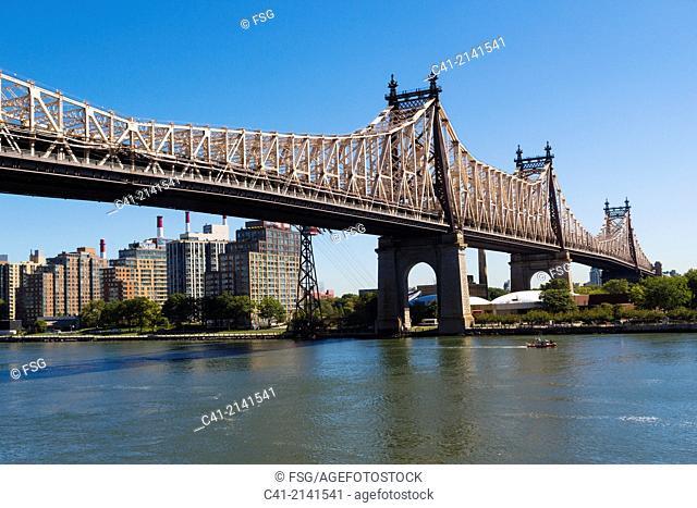 Queensboro Bridge. New York City. NY. USA